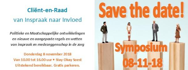 banner symposium inspraak - invloed