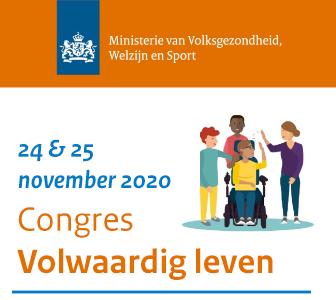 Online congres Volwaardig leven op 24 en 25 november 2020