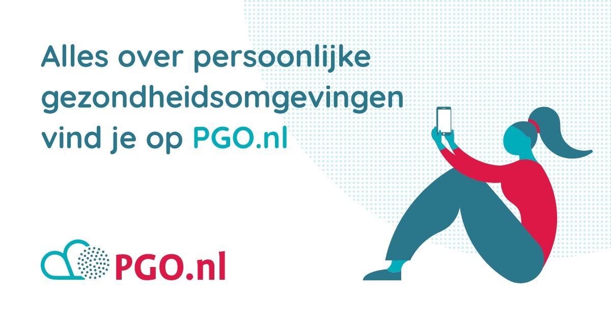 Zorgverleners vinden alles over persoonlijke gezondheidsomgevingen op PGO.nl